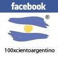 100 X Ciento Argentino en FACEBOOK