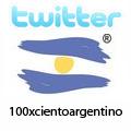 100 X Ciento Argentino en TWITTER