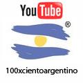 100 X Ciento Argentino en YOUTUBE